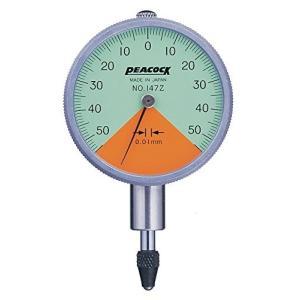 PEACOCK(尾崎) 指針1回転未満ダイヤルゲージ Zシリーズ 147Z|laplace