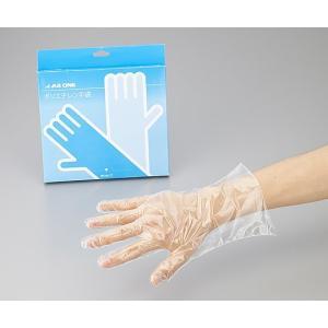 アズワン ポリエチレン手袋エコノミーM 2-4972-02