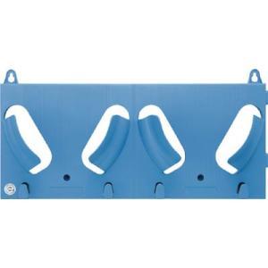 谷沢製作所 エコラック 2個掛け ブルー 822R|laplace