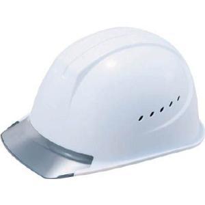谷沢製作所 ヘルメット(透明ひさしタイプ・通気型) 1610-EZV-V2-W3-J|laplace
