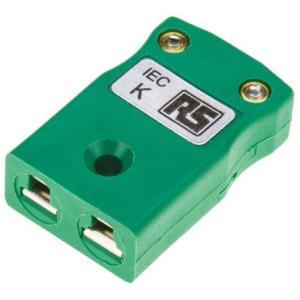 RS 熱電対コネクタ タイプK熱電対用  455-9758|laplace