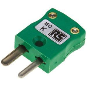 RS 熱電対コネクタ タイプK熱電対用 455-9764|laplace