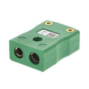 RS 熱電対コネクタ タイプK熱電対用 455-9972|laplace