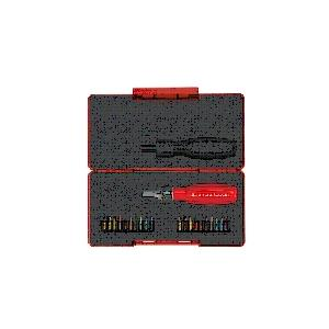 PB SWISSTOOLS ツイスターラチェットドライバーショート(ビット付セット) 8510R-30SET|laplace
