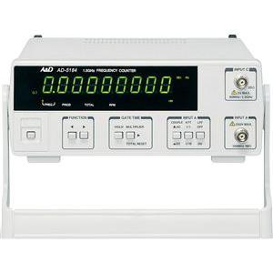 A&D 周波数カウンター 1.5GHz AD-5184|laplace