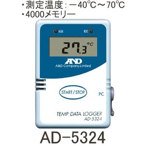 A&D 温度データロガー AD-5324|laplace