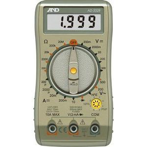 A&D デジタルマルチメーター AD-5528|laplace