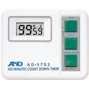 A&D デジタルタイマー (100分形) AD-5703|laplace
