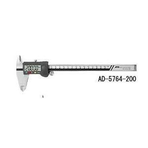 A&D  ステンレス デジタルノギス 200mm AD-5764-200|laplace