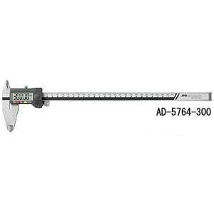 A&D  ステンレス デジタルノギス 300mm AD-5764-300|laplace