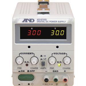A&D 直流安定化電源 AD-8735D|laplace