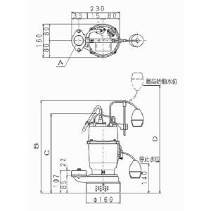 エレポン ポンプ(三相 200V) ADII-250-2T|laplace