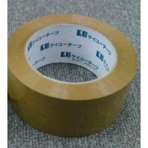 ケイユー OPPテープ 茶/0.05mmX48mmX100m AK508|laplace