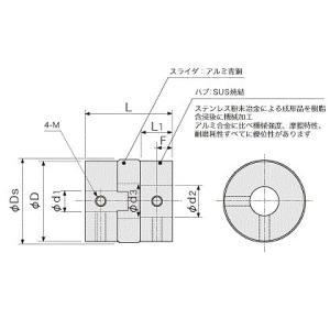 アサ電子工業 ADK カップリング APJ15-5-6|laplace|02