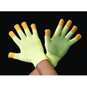 エスコ [M]手袋(滑り止付・薄手・ケブラー) EA354KC-3|laplace