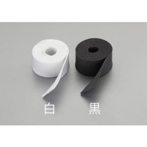50mm x10m 平織ゴム (黒)|laplace