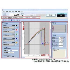 イマダ ZTシリーズ用 荷重-時間グラフ作成ソフトウェア Force Recorder Standard|laplace