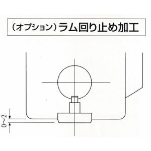 北総システムズ ハンドプレス追加工【ラム回り止め加工】|laplace