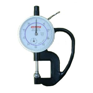 PEACOCK ダイヤルシックネスゲージ (厚み測定器) 0.01mmタイプ PG-10|laplace