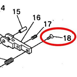日東工器 BB-10A用部品 +皿小ネジ3X8 TP00155|laplace