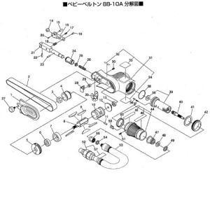 日東工器 BB-10A用部品 +皿小ネジ3X8 TP00155|laplace|02