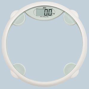 A&D パーソナル体重計【ホワイト】(秤量:150kg) UC-330A-W laplace