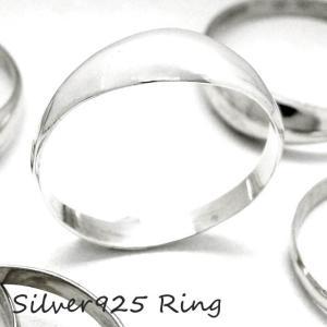 シルバー925 メンズ レディース リング ぷっくりとした膨らみがシンプルでオシャレな指輪|laplateriashu