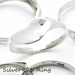 シルバー925 メンズ レディース リング シンプル 華奢でキレイなデザインの指輪|laplateriashu