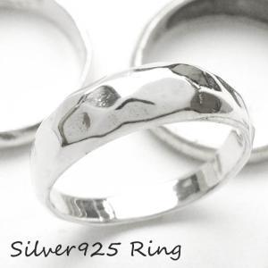 シルバー925 メンズ レディース リング シンプル 多面デザインがお洒落な指輪|laplateriashu