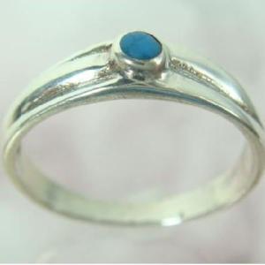 トルコ石リング12 指輪 ターコイズ 夏リング シルバー925 シルバー製|laplateriashu