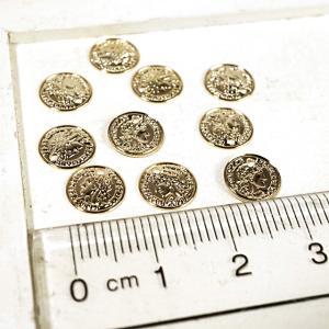 コイン 貨幣 ゴールド 10個1セット アクセサリーパーツ|laplateriashu