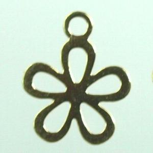 透かしパーツ8 フラワー 花 11-030(10個セット売り)|laplateriashu