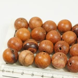 フィリピン製 ココナッツウッド ヤシの木 天然素材 丸玉 直径約16mm 約27個入り ブラウン ハンドメイドパーツ ウッドビーズ アクセサリーパーツ|laplateriashu