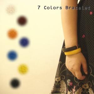 ビヨーンと伸びて簡単装着!キレイなカラーの革ブレスレット (約13mmの太めタイプ)|laplateriashu