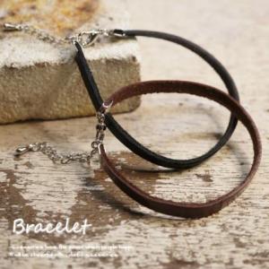 シンプルだからこそ合わせやすい  18cmタイプの牛皮革ブレスレット|laplateriashu
