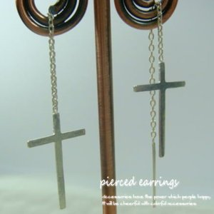 クロス・十字架のアメリカンサガリピアス30 f030 f-3-1|laplateriashu