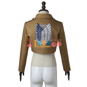進撃の巨人 自由の翼 違い剣 バラ ジャケット コスプレ衣装 lardoo-store