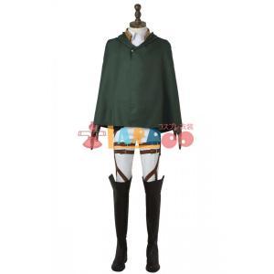 進撃の巨人 訓練兵団 違い剣 ブーツ+マント コスプレ衣装 lardoo-store