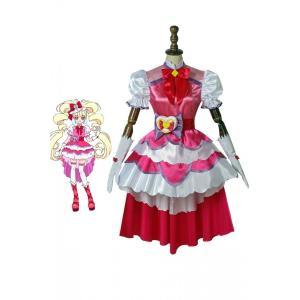 HuGっと!プリキュア キュアマシェリ 愛崎えみる  コスプレ衣装 コスチューム cosplay 仮装|lardoo-store