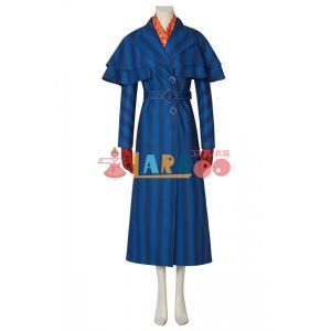 メリー・ポピンズ  Mary Poppins Returns Mary Poppins コスプレ衣装...