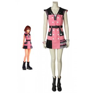 キングダム ハーツIII KHIII カイリ KINGDOM HEARTS 3 Kairi ゲーム コスプレ衣装 コスプレ コスチューム 欧米 cosplay 仮装|lardoo-store