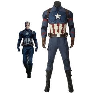 アベンジャーズ4 エンドゲーム キャプテン アメリカ Avengers: Endgame Steven Rogers Captain America コスチューム|lardoo-store