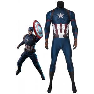 アベンジャーズ/エンドゲーム キャプテン アメリカ スティーブ ロジャース  Avengers: Endgame Captain America コスプレ衣装 cosplay コスチューム 仮装|lardoo-store