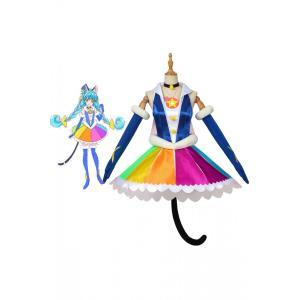 スター☆トゥインクル プリキュア キュアコスモ Cure Cosmo マオ コスプレ衣装 cosplay アニメ コスチューム 仮装|lardoo-store