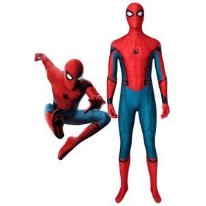 シビル・ウォー/キャプテン・アメリカ スパイダーマン Spider-Man ジャンプスーツ コスチュ...