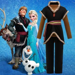 アナと雪の女王2 アナと雪の女王 クリストフ Kristoff Frozen 子供服 キッズ おしゃれ コスチューム コスプレ衣装 仮装 ハロウィン|lardoo-store