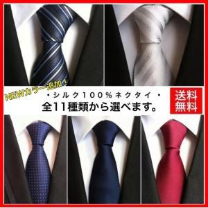 ネクタイ 高級 シルク100% EveAXIA 無地 ストライプ メンズ ビジネス カジュアル フォーマル 全9種類 通勤 就活 紳士 スーツ 大人気 父の日