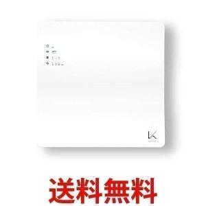 カルテック KL-W01 ホワイト フィルター交換不要 光触媒 除菌・脱臭空気清浄機 壁掛 タイプターンド・ケイ|||largo1991