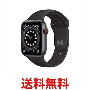 Apple Watch Series 6(GPS + Cellularモデル) 44mmスペースグレ...