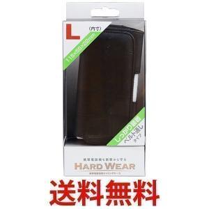 OSMA CHC-PL01KK 携帯ケース 横型 Lサイズ ブラック CHCPL01KK ベルト通しタイプ 携帯 オズマ|largo1991